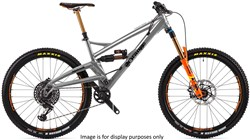 "Orange Alpine 6 Factory 27.5"" Mountain Bike 2019 - Enduro Full Suspension MTB"