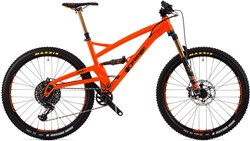 "Orange Four Factory 27.5"" Mountain Bike 2019 - Trail Full Suspension MTB"