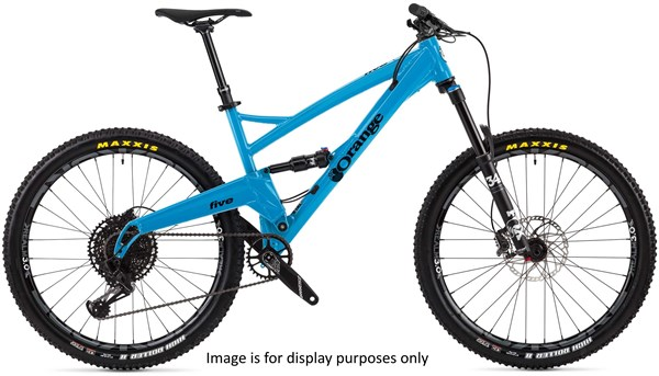 "Orange Five Pro 27.5"" Mountain Bike 2019 - Trail Full Suspension MTB"