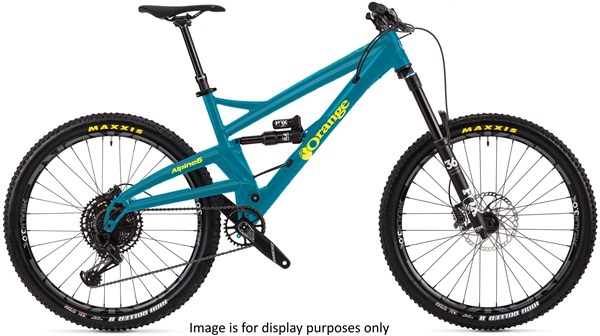 "Orange Alpine 6 Pro 27.5"" Mountain Bike 2019 - Enduro Full Suspension MTB"