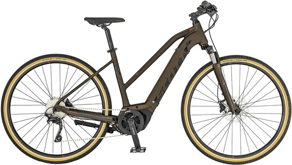 Scott Sub Cross eRide 20 Womens 2019 - Electric Hybrid Bike | City