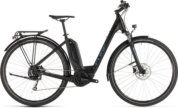 Cube Touring Hybrid One 400 Easy Entry 2019 - Electric Hybrid Bike | City-cykler