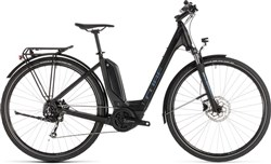 Cube Touring Hybrid One 400 Easy Entry 2019 - Electric Hybrid Bike