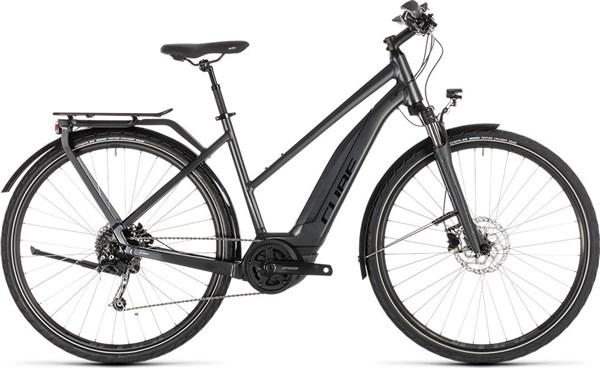 Cube Touring Hybrid 400 2019 - Electric Hybrid Bike | City-cykler