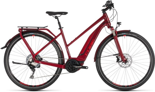 Cube Touring Hybrid EXC 500 Womens 2019 - Electric Hybrid Bike