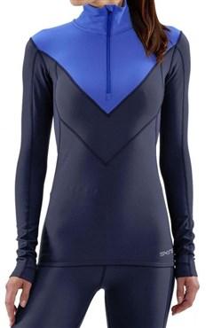 Skins DNAmic Thermal Zip Womens Long Sleeve Jersey
