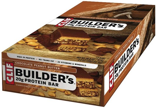 Clif Bar Builders Protein Bars - Box of 12