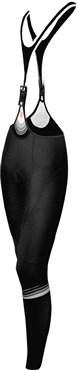 Funkier Thermesse S-981W-C12 Womens Winter Single Strap Bib Tights