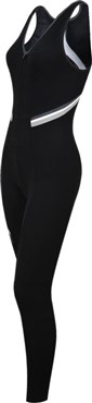 Funkier Thermesse S-980W-C12 Womens Winter Double Strap Bib Tights
