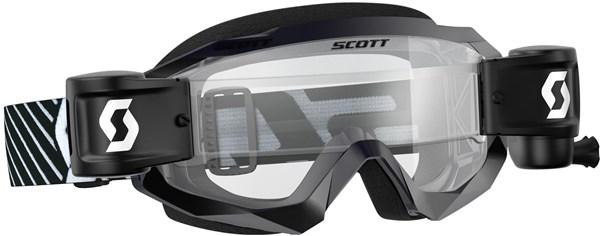 Scott Hustle X MX WFS Goggles | Beskyttelse