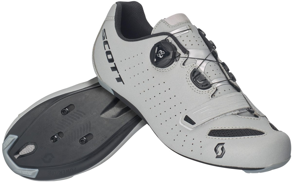 SCOTT Road Comp Boa Lady Shoe - gloss white/turquoise blue | Shoes and overlays