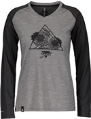 Scott Trail Flow Raglan Womens Long Sleeve Shirt