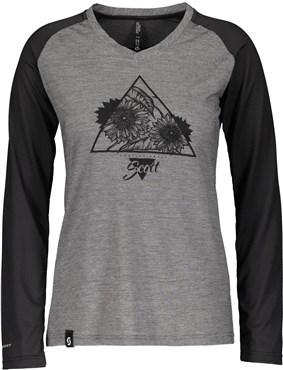 Scott Trail Flow Raglan Womens Long Sleeve Shirt