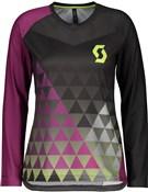 Scott Trail Vertic Womens Long Sleeve Jersey