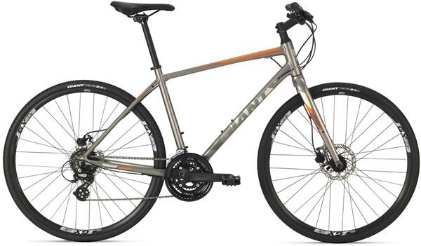 Giant Escape 2 Disc - Nearly New - L - 2018 Hybrid Bike | City-cykler