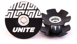 Unite Headset Cap - Inc M6 SS Bolt and Star Nut