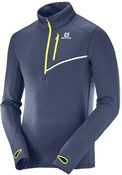 Product image for Salomon Fast Wing Mid Long Sleeve Jersey