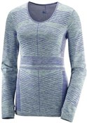 Product image for Salomon Elevate Move On Long Sleeve Womens Running Tee
