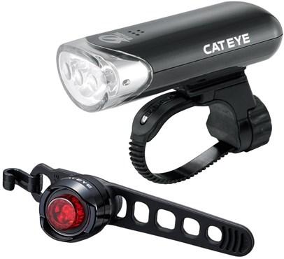 Cateye EL135 Front & ORB Rear Light Set
