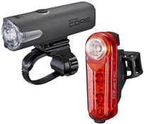 Cateye Sync Set Core & Kinetic Front & Rear Light Set