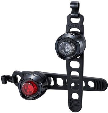 Cateye Orb Set Front & Rear Battery Bike Light