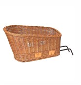 Basil Pasja System Elba Wicker Dog Basket Rear
