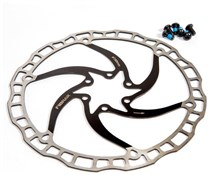 Product image for Fibrax Ultra Light Stainless Steel Rotor 160mm