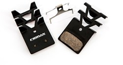 Fibrax Shimano XTR/XT/SLX/Alfine Semi Metallic (2011) Disc Brake Pads Finned