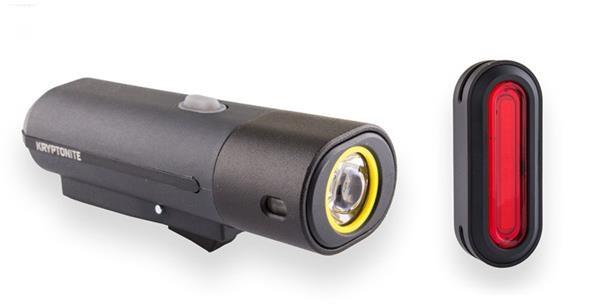 Kryptonite F-500 & Avenue R-45 USB To See Light Set | Light Set