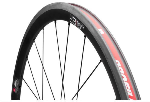 Profile Design 38 Twenty Four Full Carbon Clincher Wheelset   Wheelset