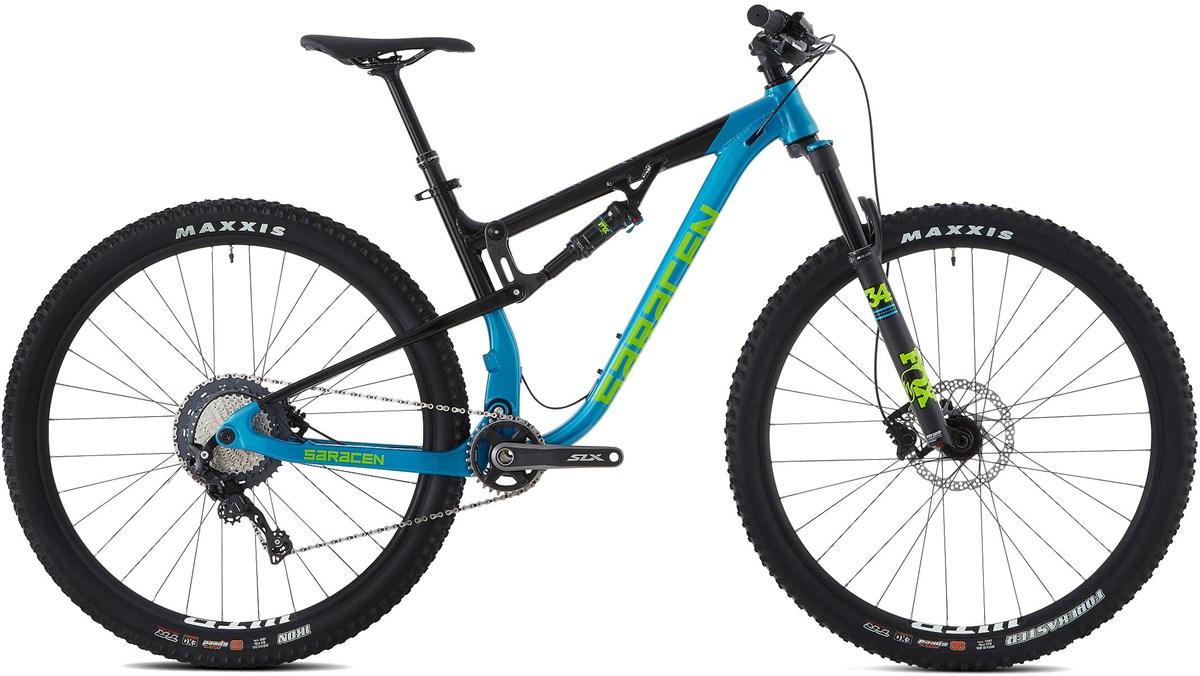 Saracen Traverse Elite 29er Mountain Bike 2019 - Trail Full Suspension MTB | Mountainbikes
