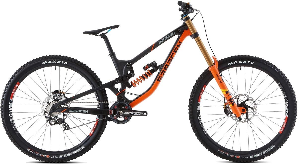 Saracen Myst Team 29er Mountain Bike 2019 - Downhill Full Suspension MTB | Mountainbikes