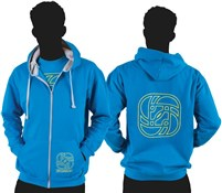 Product image for Gusset Outline Logo Zip Hoodie