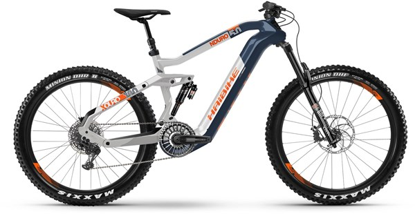 "Haibike XDURO Nduro 5.0 FlyOn 27.5"" 2020 - Electric Mountain Bike"