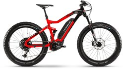 "Haibike XDURO FullFatSix 10.0 26"" 2019 - Electric Mountain Bike"
