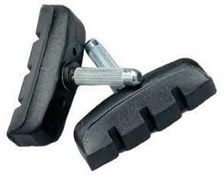 Product image for Raleigh Post MTB V-Type/Cantilever Brake Pads - Bulk 50