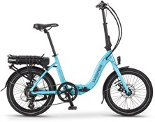 "Wisper 806 SE Folder 375Wh - Nearly New - 16""/20""wheel 2018 - Electric Hybrid Bike"