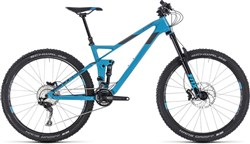 "Cube Stereo 140 HPC Race 27.5"" - Nearly New - 18"" Mountain Bike 2018 - Full Suspension MTB"