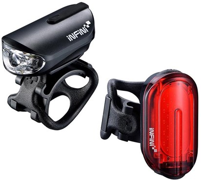 Infini Olley Lightset Micro Usb Front And Rear Lights
