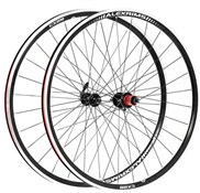 Product image for Raleigh Pro Build Rear Radial Tubeless Ready Road/Cx 700C Q/R Wheel
