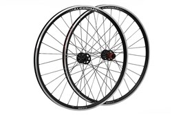 Product image for Raleigh Pro Build Rear Tubeless Ready Disc Road/Cx 700C Q/R Wheel