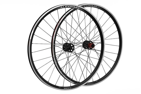Raleigh Pro Build Front Tubeless Ready Disc Road/Cx 700C Q/R Wheel