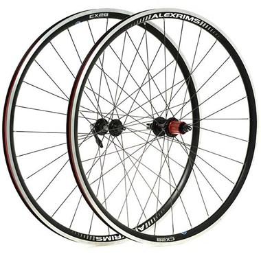 Raleigh Pro Build Rear Tubeless Ready Road/Cx 700C Q/R Wheel