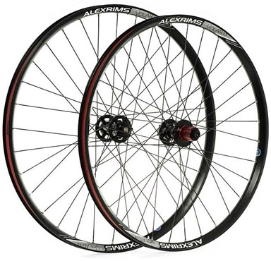 """Raleigh Pro Build Rear Tubeless Ready Trail 142X12mm Axle 26"""" Wheel"""