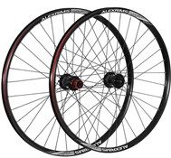 "Product image for Raleigh Pro Build Rear Tubeless Ready Dh 150X12mm Axle 26"" Wheel"