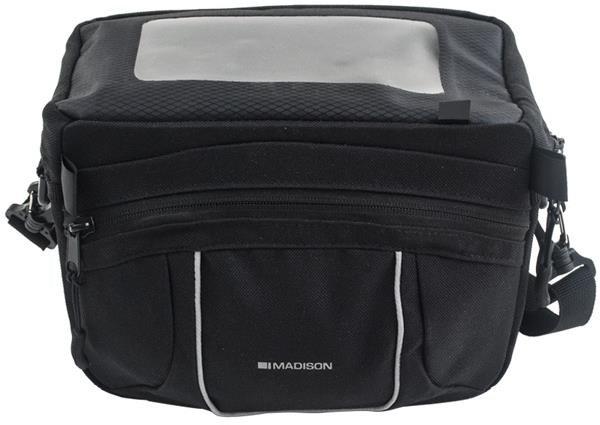 Madison Handlebar Bag With Upper Map Cover | Handlebar bags