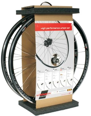 Wilkinson Front And Rear Set Double Wall Mach 1 Omega Rim 700C