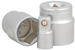 Product image for Cyclo Torque Wrench Adaptors. Sockets 32mm & 25mm X1/2. Adaptor 1/2-3/8
