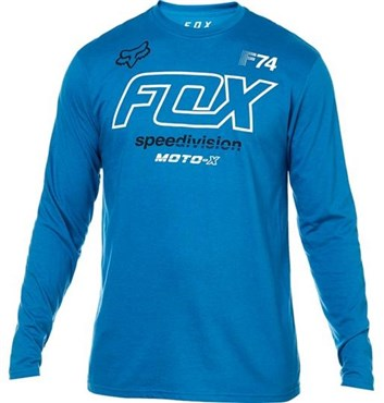 Fox Clothing Assessing Long Sleeve Tee