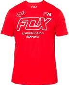 Fox Clothing Assessing Short Sleeve Tee